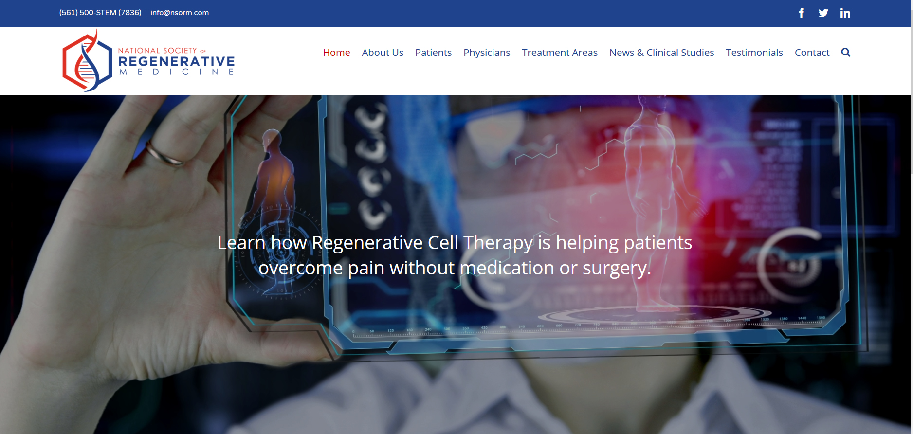 National Society of Regenerative Medicine | Networld Online