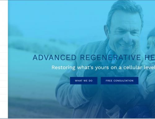 Advanced Regenerative Medicine