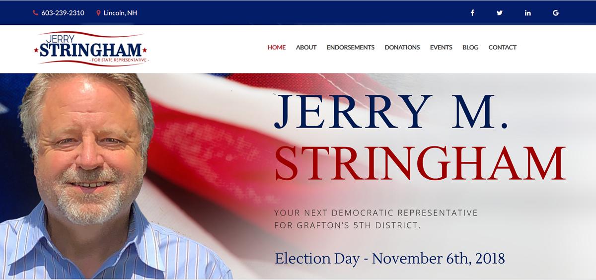 Jerry M Stringham